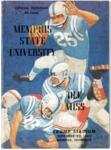 Memphis State University vs University of Mississippi football program, 1962