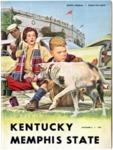 Memphis State University vs University of Kentucky football program, 1957