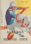 Memphis State University vs University of Alabama football program, 1958