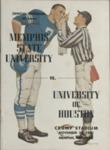 Memphis State University vs University of Houston football program, 1963