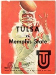 Memphis State University vs University of Tulsa football program, 1964