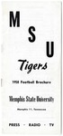 Memphis State University football media guide, 1958