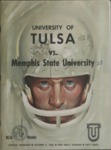 Memphis State University vs University of Tulsa football program, 1965