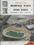 Memphis State University vs Utah State University football program, 1965