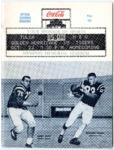 Memphis State University vs University of Tulsa football program, 1966