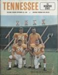 Memphis State University vs University of Tennessee football program, 1968