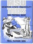 Memphis State University football media guide, 1962