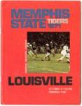 Memphis State University vs University of Louisville football program, 1971
