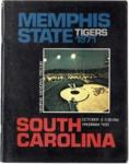 Memphis State University vs University of South Carolina football program, 1971