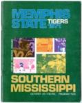 Memphis State University vs University of Southern Mississippi football program, 1971