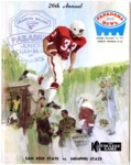 Memphis State University vs San Jose State College football program, 1971