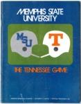Memphis State University vs University of Tennessee football program, 1972