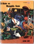 Memphis State University vs Kansas State University football program, 1973