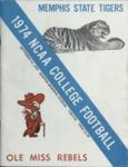 Memphis State University vs University of Mississippi football program, 1974