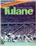 Memphis State University vs Tulane University football program, 1976