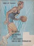 Memphis State University basketball souvenir program, 1966-1967 season