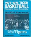 Memphis State University basketball souvenir magazine, 1973-1974 season