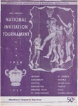National Invitation Basketball Tournament program, 1957