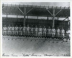 Kitty League baseball champions, Paris, Tennessee, 1923 by Photo Craftsmen