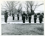 Air Force ROTC color guard, Memphis State University, circa 1962