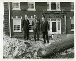 Excavation begins for Humanities Building, Memphis State University, 1966