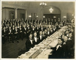 Sigma Chi dinner, University of Tennessee, circa 1935 by Thompson