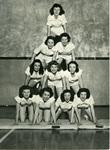 Memphis State College cheerleaders, 1950s