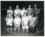 Memphis State University badminton team, 1975