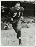 Memphis State College football player William Ellis Renfro, circa 1954