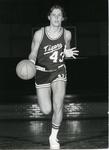 Memphis State University basketball player Bill Cook, circa 1974
