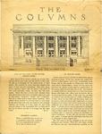 The Columns, November 1921