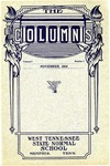 The Columns, West Tennessee State Normal School, 3:1, November 1915