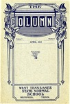 The Columns, West Tennessee State Normal School, 1:4, April 1914