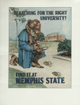 Memphis State University recruitment poster