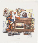 """""""Tiger Den"""" by Betty Malone, 1986 by Betty Malone"""