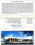 University Libraries Fact Sheet, 1994