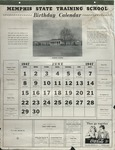Memphis State College Training School calendar, 1947-1948