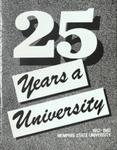 25 Years a University, 1982