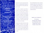 Memphis State University MVC pamphlet, 1964