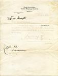 Andrew Kincannon letter, Memphis, 1918