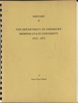 History of the Department of Chemistry, Memphis State University, 1912-1973