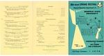 Memphis State University Spring Festival program, 1958