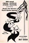 Spring Festival program, Memphis State University, 1959