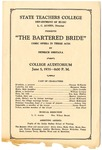 West Tennessee State Teachers College, The Bartered Bride program, 1935