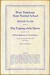 West Tennessee State Normal School play program, 1916