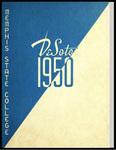 DeSoto yearbook, Memphis State College, Memphis, 1950