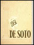 DeSoto yearbook, Memphis State College, Memphis, 1951