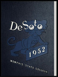 DeSoto yearbook, Memphis State College, Memphis, 1952