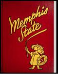 DeSoto yearbook, Memphis State College, Memphis, 1953