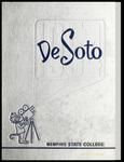 DeSoto yearbook, Memphis State College, Memphis, 1954